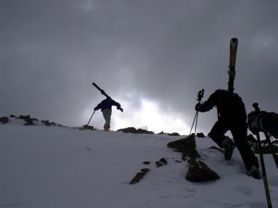 Hiking the Ridge at Taos Ski Valley