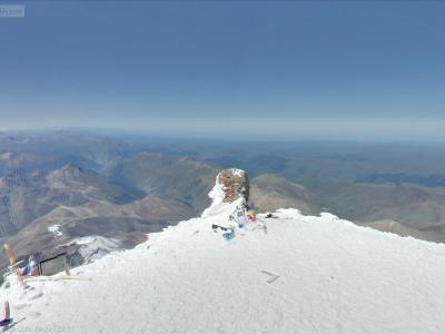 Mount Elbrus Summit - from Google StreetView