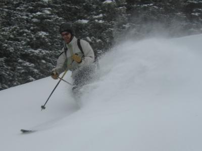 Powder Day turns