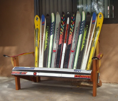 adirondack chair plans using skis