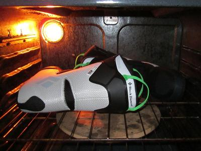 Thermofit Liners Baking in the Oven