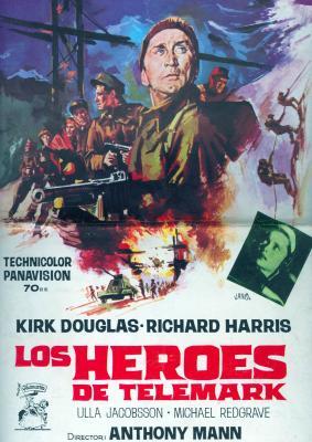 Los Heroes de Telemark (1965) movie poster