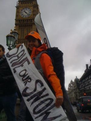 Alison Gannet in London, England