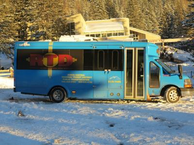 Blue Bus - RTD Mountain Trail